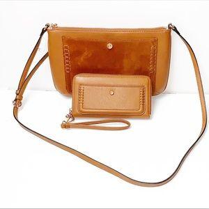 LC Lauren Conrad   Bonne Crossbody Bag/Wallet
